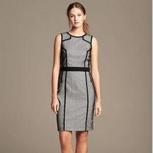 BANANA REPUBLIC Laser Cut Lace Sheath Dress 6